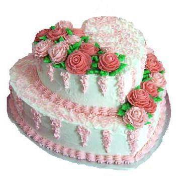 HV-NH-C-1057 - Milk cake of Duc Phat bakery - 2 layers 30cm and 20cm)