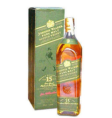 Johnie Walker Pure Malt 36 Fl.oz (1000 ml). Made in France (ID: HV-NH-W-845)