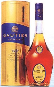 Gautier Cognac VSOP 25 Fl.oz (700 ml). Made in France (ID: HV-NH-W-849)
