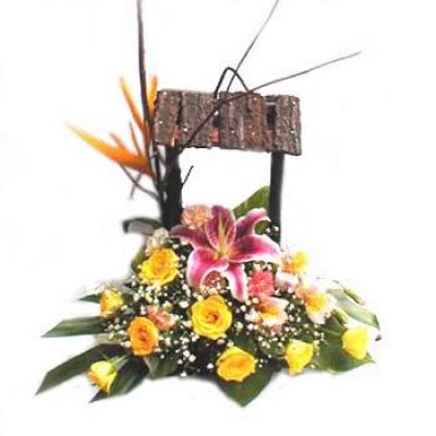 HV-L-314 Giỏ hoa(ID: HV-L-314)
