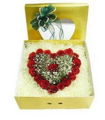 HV-NH-L-384 Hộp 24 hoa hồng(ID: HV-NH-L-384)