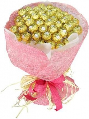 HV-NH-L-399 Bouquet 48 chocolate (ID: HV-NH-L-399)