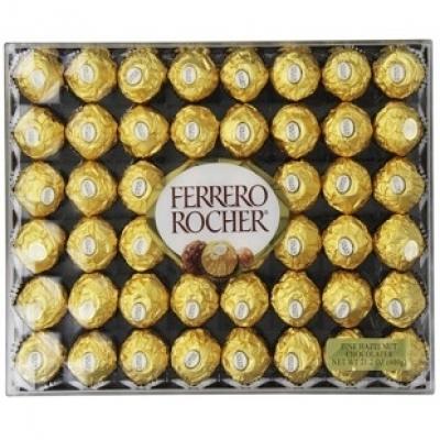 Sô cô la Ferrero Rocher 48 viên(ID: TH-FERR-ROCHER-48)
