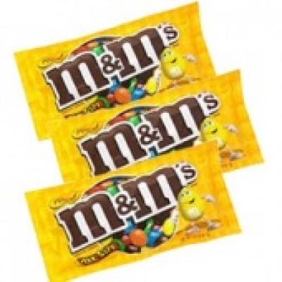 3 Bịt of M&M Peanut Chocolate(ID: TH-MM-CHOCOLATE-PEANUT-3)