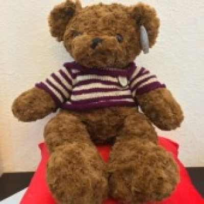 Deep Brown Teddy Bear 2 (ID: TH-TB-BROWN-2)