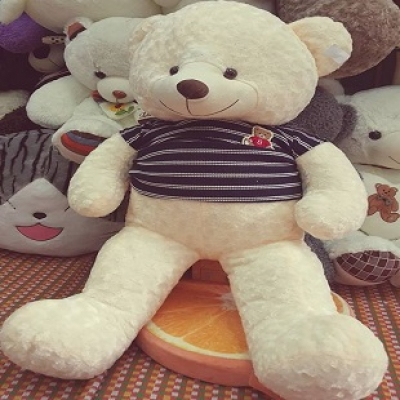 White Teddy Bear 1,4 M (ID: TH-WH-TED-BEAR-1-4M)