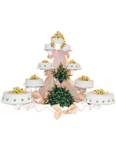Bánh cưới tầng Chantilly hiệu Brodard HV-GOL-BRD_C6-01(ID: HV-GOL-BRD_C6-01)