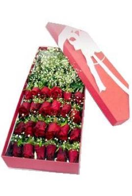 HV-NH-L-398 Hộp 24 hoa hồng(ID: HV-NH-L-398)