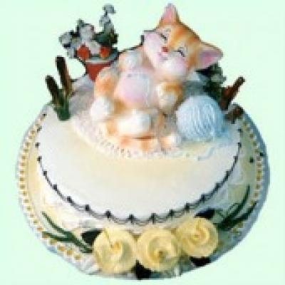 Bánh Kem Tuổi Mèo(ID: TH-BD-MEO)