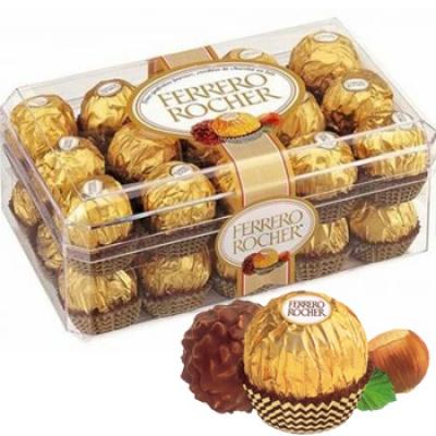 Sô cô la Ferrero Rocher 30 viên(ID: TH-FERR-ROCHER-30)