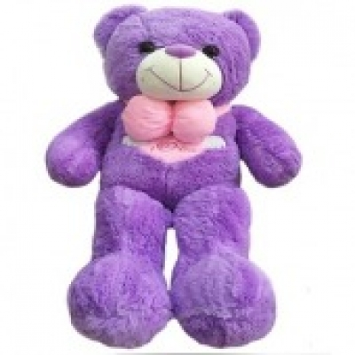 Purple Teddy Bear (ID: TH-TB-PURPLE)